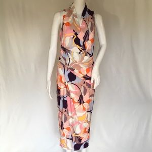 Woman wrap dress